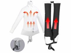 Mannequin de défroissage et sèche-pantalons Sichler Haushaltsgeräte.