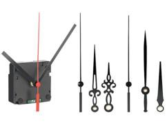 Mécanisme d'horloge radio-piloté avec 3 sets d'aiguilles