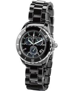 Montre chronographe pour homme avec bracelet céramique