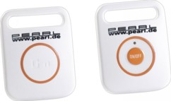 Porte-clés siffleur avec télécommande