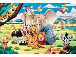 Puzzle phosphorescent ''Animaux de La Savane'' 500 pièces