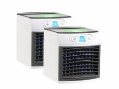 Rafraîchisseur d'air et humidificateur avec lumière d'ambiance LW-110 - x2