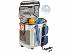 Sac isotherme thermoélectrique avec trolley 40 L