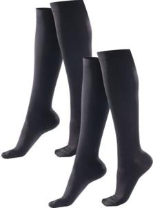 2 paires de chaussettes de contention - taille S / M