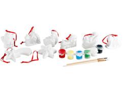 8 Décorations de Noël en céramique personnalisables