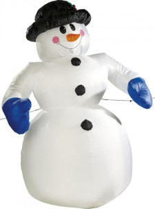 Bonhomme de neige gonflable XXL 240 cm