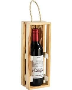 Bougie décorative  bouteille de vin - petit modèle