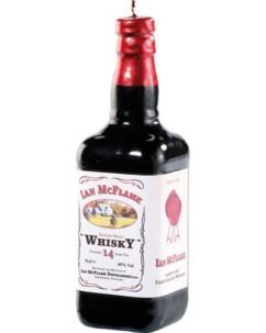 Bougie décorative parfumée 'bouteille de whisky'