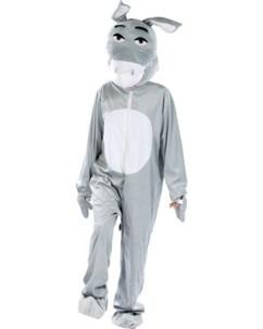 Costume d'âne en fourrure synthétique