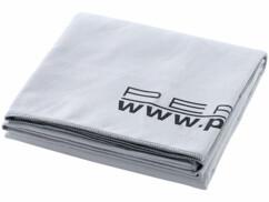 Drap de bain microfibre Gris - 180 x 90 cm