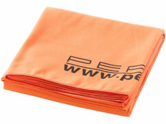 Drap de bain microfibre Orange - 180 x 90 cm
