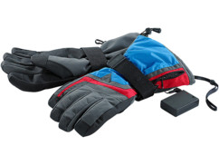 Gants de ski chauffants taille L