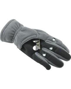 Gants polaires 3 LED taille XL (noir)