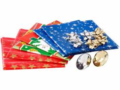 """Kit d'emballage cadeau """"Noël"""" 14 pièces"""