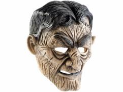 Masque de zombie en latex avec bouche mobile