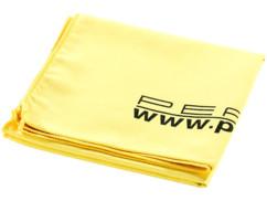 Serviette de bain microfibre 80 X 40 cm jaune