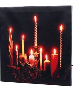 Tableau à LED ''Romantic Moments''