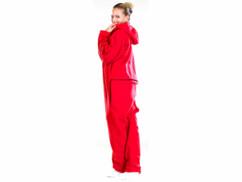 Tenue d'Intérieur rouge en textile polaire taille L