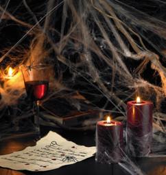 Toile d'araignée décorative Halloween