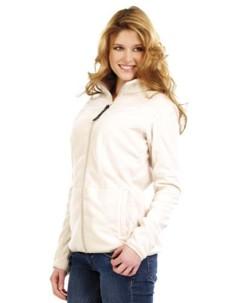 Veste en polaire pour femme taille M coloris beige