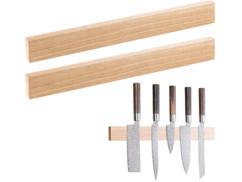 Lot de 2 barres à couteaux aimantée par Rosenstein & Söhne