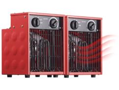 2 chauffages soufflants de chantier LV-320.pro - 2000 W