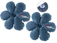 Lot de 2 coussins gonflables multi-usage en forme de fleur par NewGen Medicals.