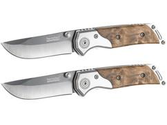 Lot de 2 couteaux de poche avec lame en céramique par Semptec.