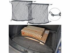 Lot de 2 filets de coffre pour maintien des bagages Lescars.