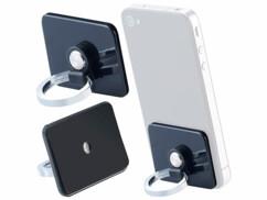 Deux supports légers, de la marque Callstel, pour appareils mobiles