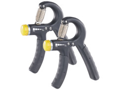 2 muscleurs ergonomiques pour main et avant-bras, tension réglable - 10 à 40 kg