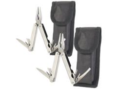 Lot de 2 outils multifonction 15 en 1 en acier inox par Semptec.