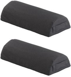 2 reposes-pied antidérapants en mousse avec housse lavable