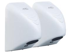 Lot de 2 sèche-mains automatiques 850 W par Sichler Haushaltsgeräte.