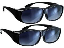 2 surlunettes ''Day Vision'' avec anti-reflet et protection UV 380