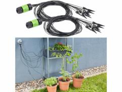 2 systèmes de micro-irrigation avec 10 pointes d'arrosage