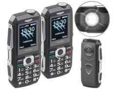 2 téléphones mobiles outdoor double SIM étanches et antichocs XT-300