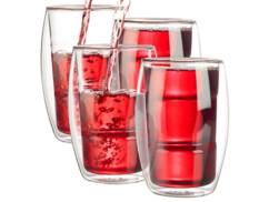 4 verres double paroi - 38 cl