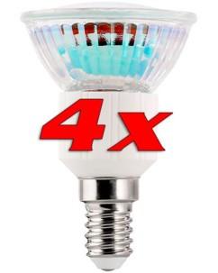 4 Ampoules 39 LED SMD E14 3 W -  blanc chaud
