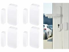 4 capteurs sans fil portes et fenêtres pour système d'alarme XMD-5400