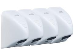 Lot de 4 sèche-mains automatiques 850 W par Sichler Haushaltsgeräte.
