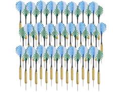 48 fléchettes en laiton avec pointes en acier