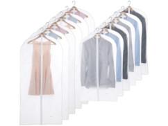 12 housses à vêtements 60 x 100 cm / 60 x 135 cm
