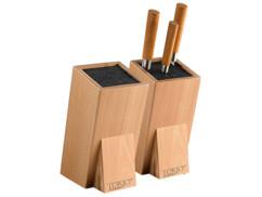 2 blocs à couteaux universels avec lamelles