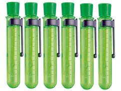 6 fioles pour faire des bulles de savons super résistantes