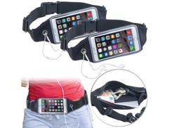"""2 ceintures running élastiques spécial smartphone - Jusqu'à 6,2"""""""