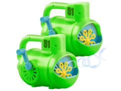 2 machines à bulles manuelles en forme de sous-marin
