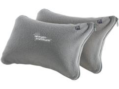 2 mini coussins gonflables déhoussables