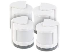 4 mini détecteurs de mouvement PIR pour système d'alarme XMD-3000.avs