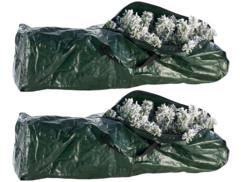 2 sacs de rangement pour sapins de Noël artificiels